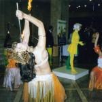 FEIRAS _ Vitrine Viva e Dança Cigana com Fogo