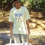 Jovem participante do Curso