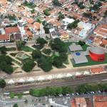 Centro Cultural de Cerquilho/SP projetado pelo arquiteto Ruy Othake