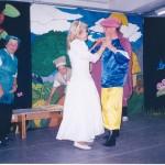 Mostagem de espetáculo com terceira idade