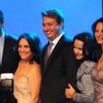 Eduardo Bodstein, RODRIGO SANTORO, REGINA DUARTE, Ivan Izzo, Heloiza Barroso e Lucia Capuchinqui